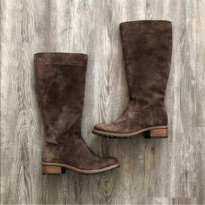 UGG Shoes - UGG brown suede leather riding boots 5518 broome